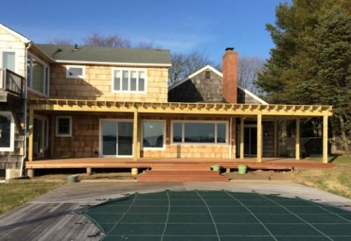 Mahagony Deck & Treated Pine Pergola