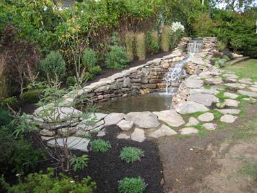 Montauk Waterfall Pond