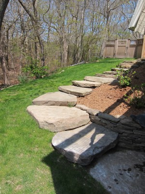 Natural Stone Steps & Pathways